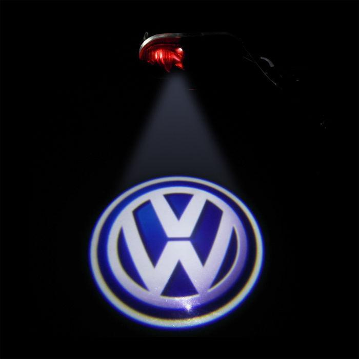 Interlook LED logo projektor VW VW Golf IV 4 Bora Touran Beetle Caddy Sharan